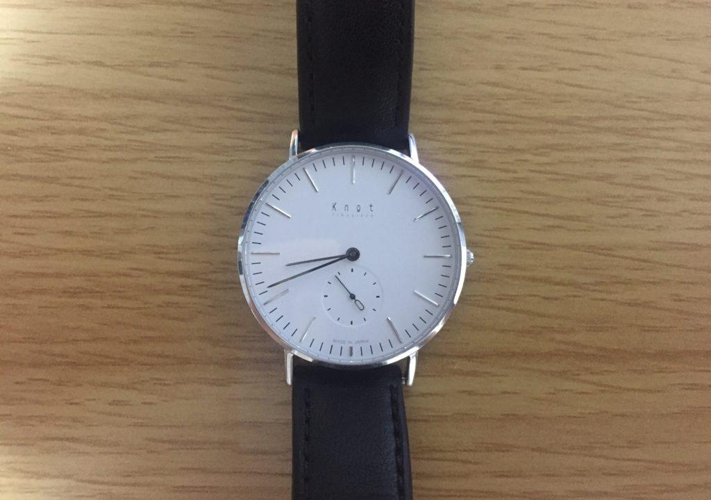 wholesale dealer 34774 dbd9b 4年使ったKnotの腕時計のデザインや使い心地、耐久性をレビュー ...