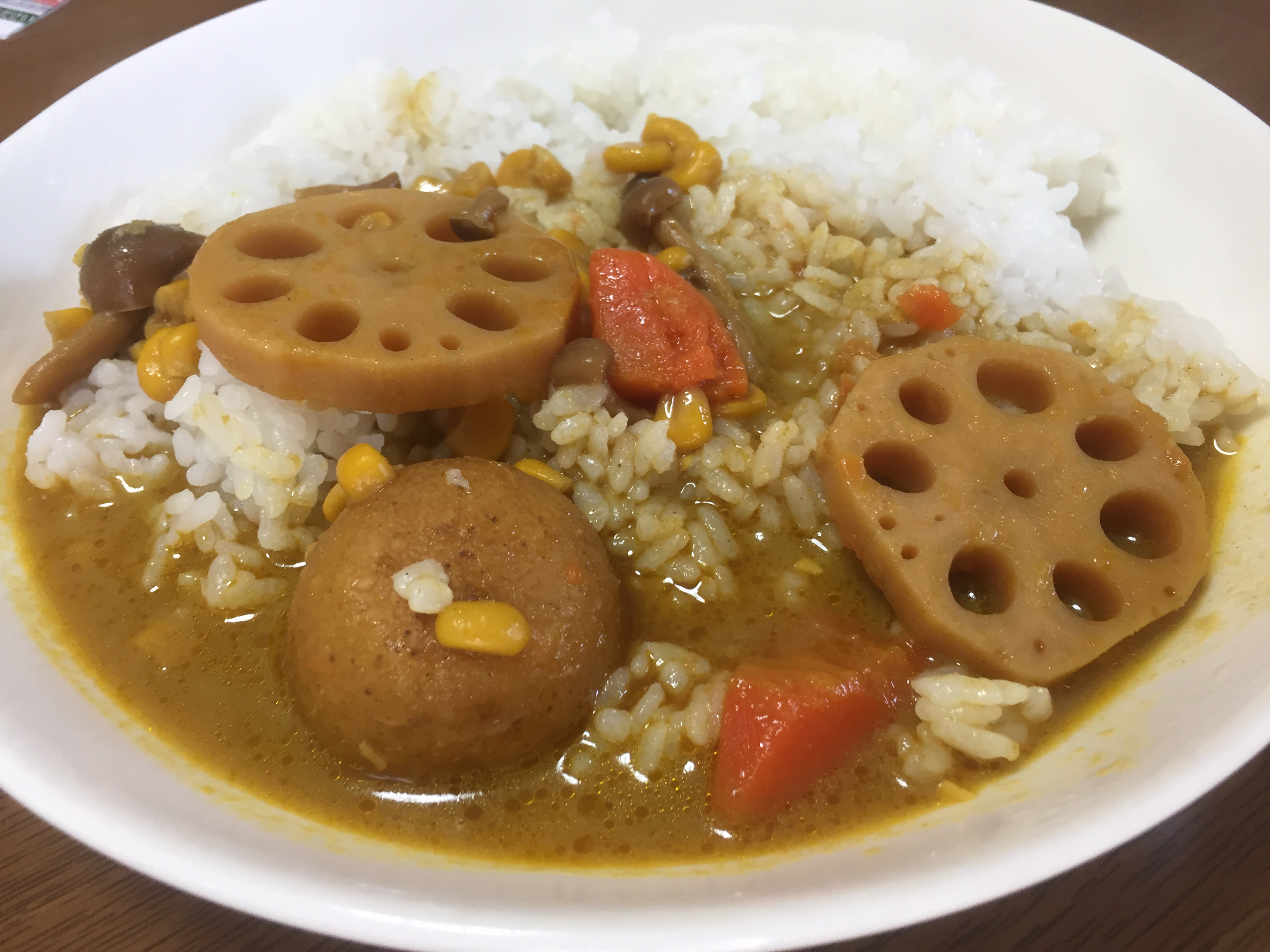 無印良品の根菜のスパイシースープカレー