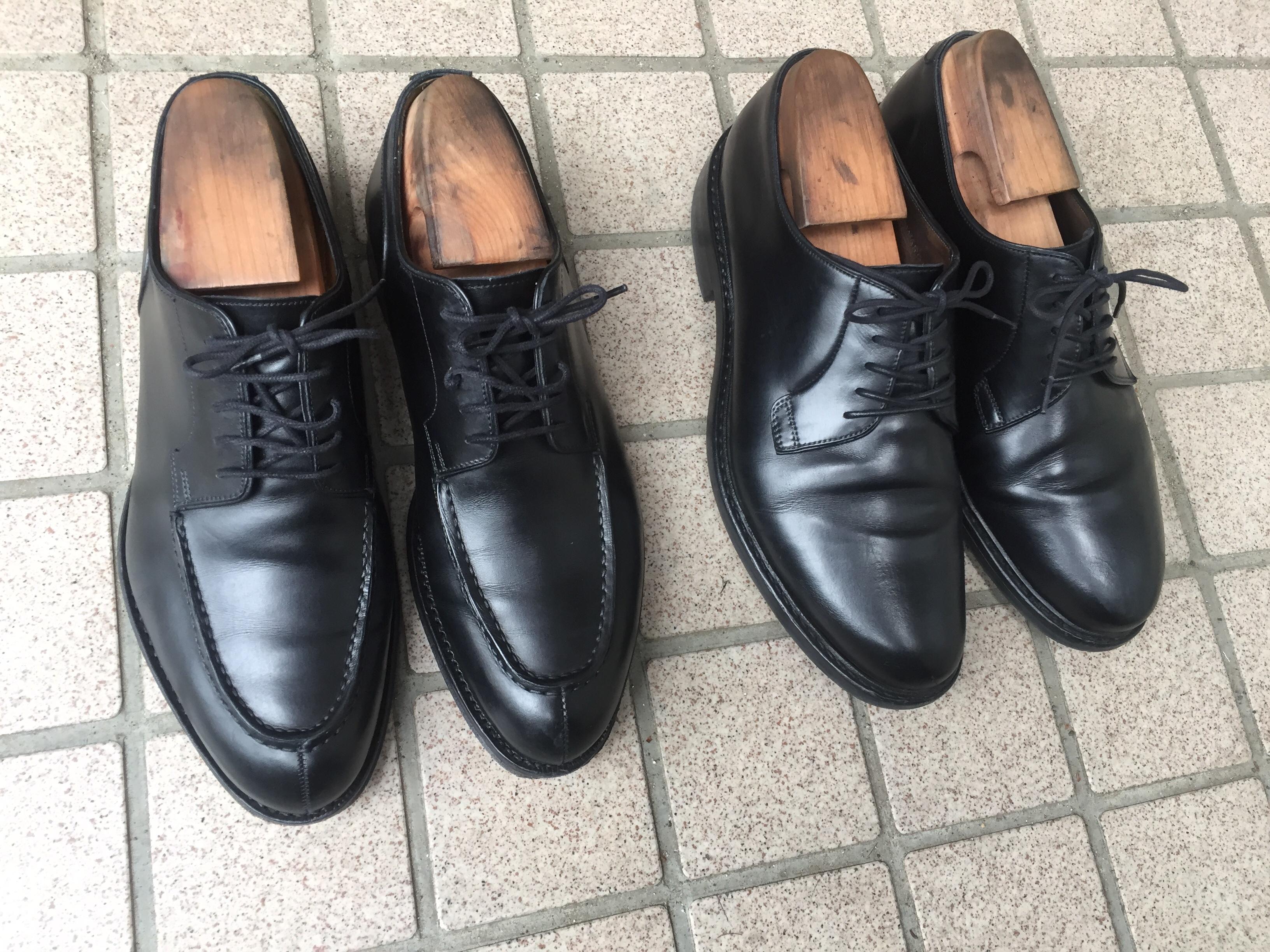 ジャランスリワヤの革靴