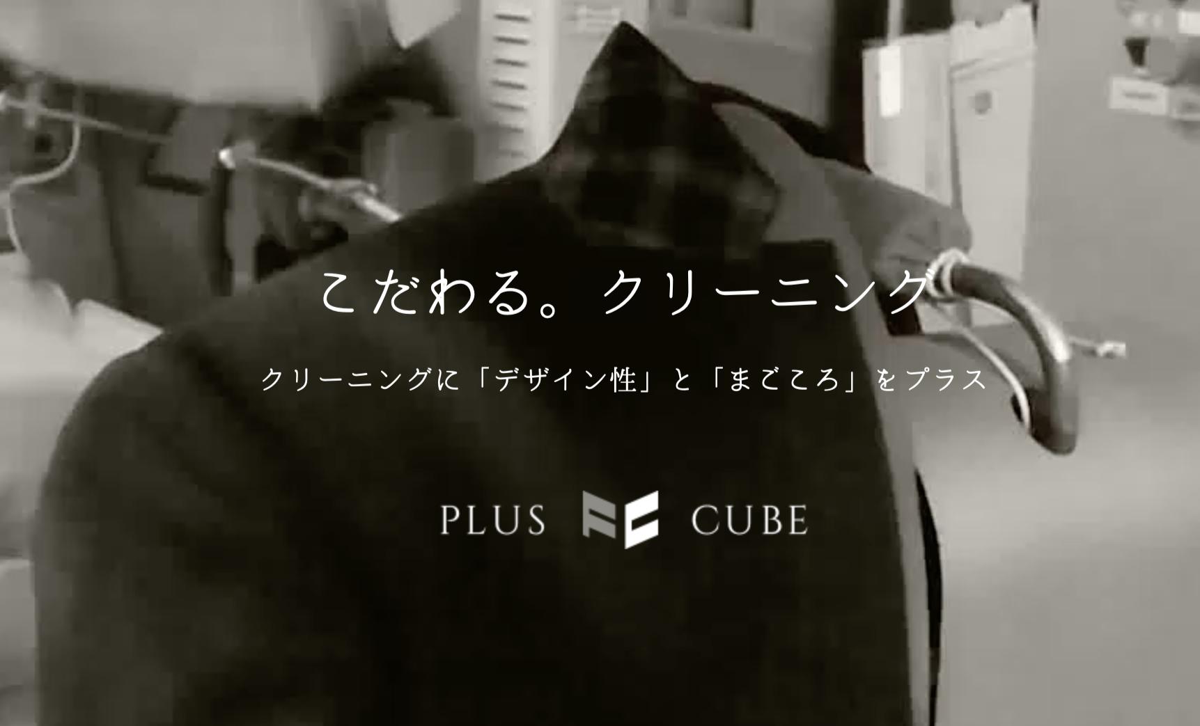 宅配クリーニング⑤プラスキューブ
