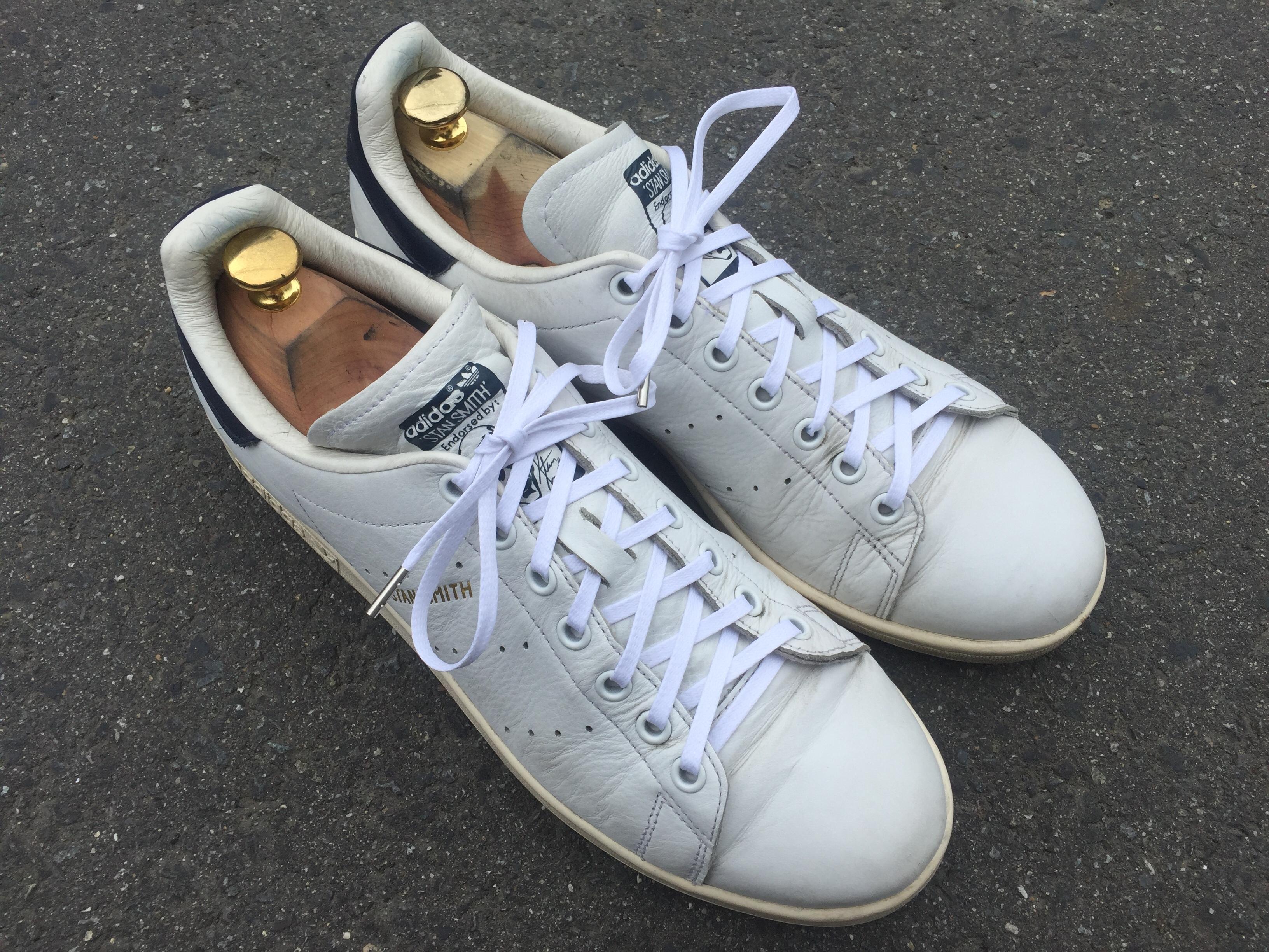 スタンスミスのシューレース(靴紐)を交換