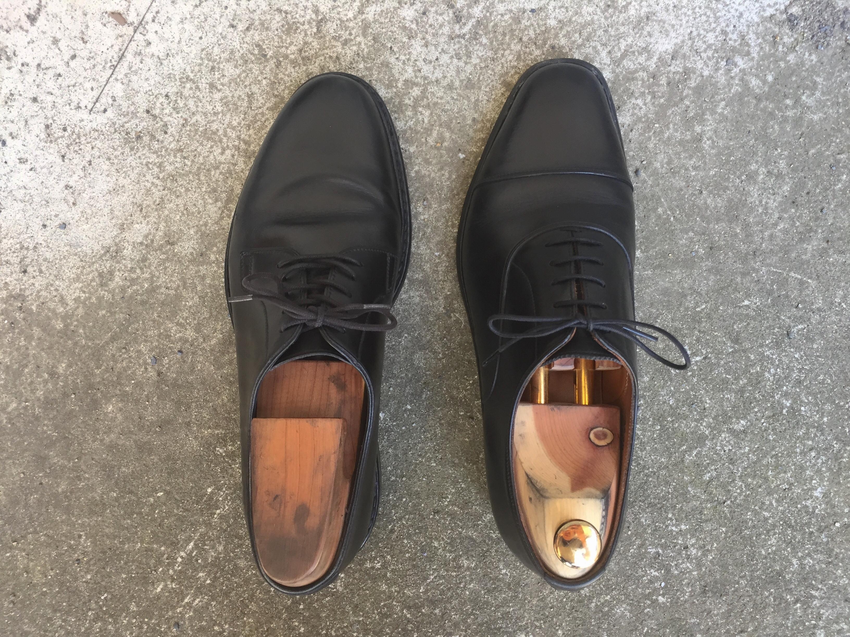 カジュアルに履ける革靴の条件