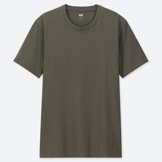 ユニクロのスーピマコットンTシャツ