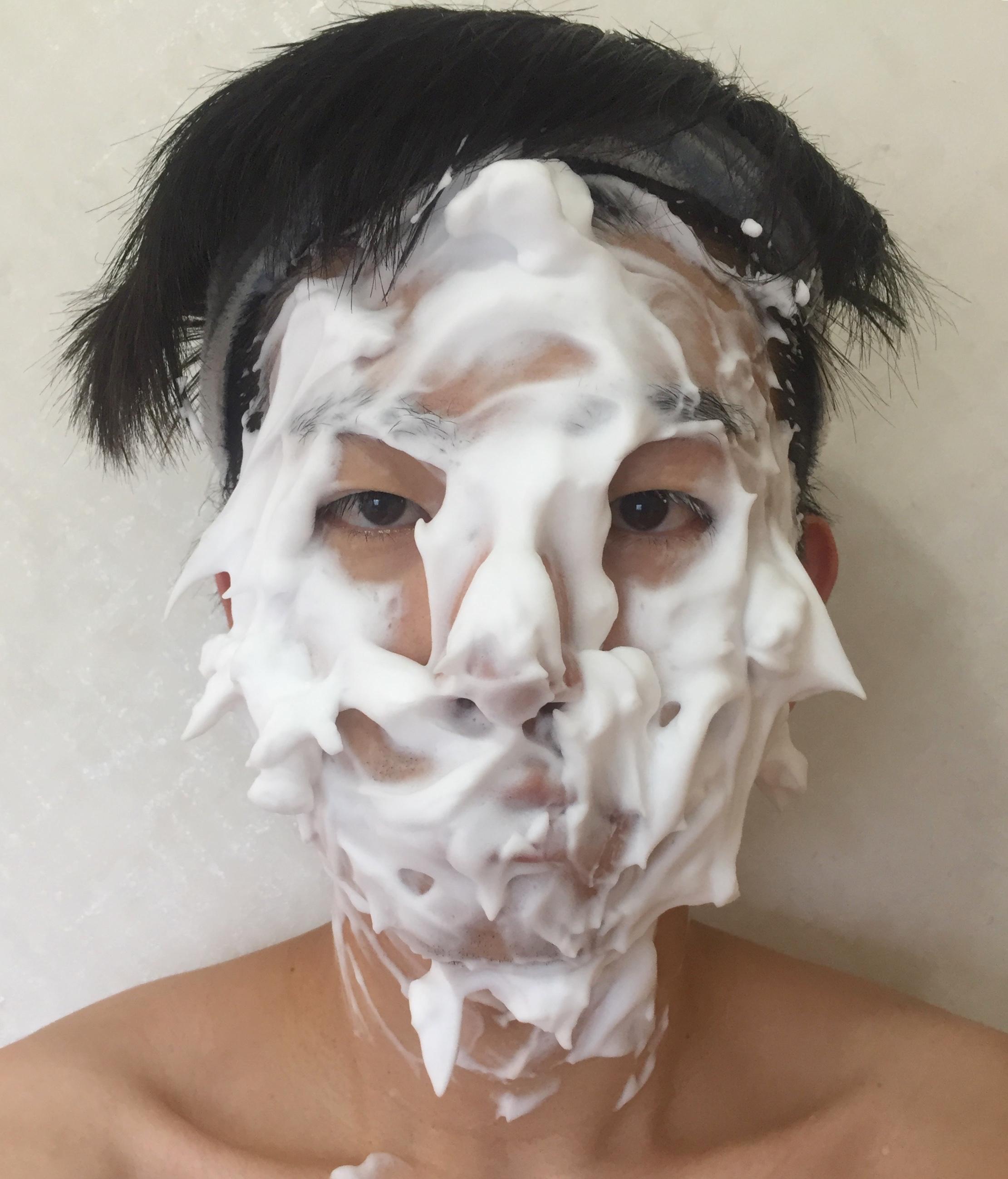 バルクオムの洗顔用泡立てネット