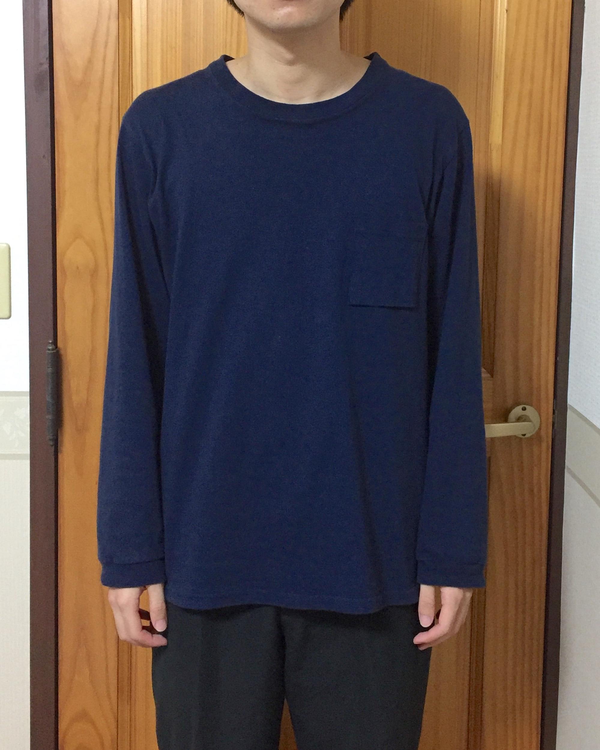 ジャックマンの長袖Tシャツ