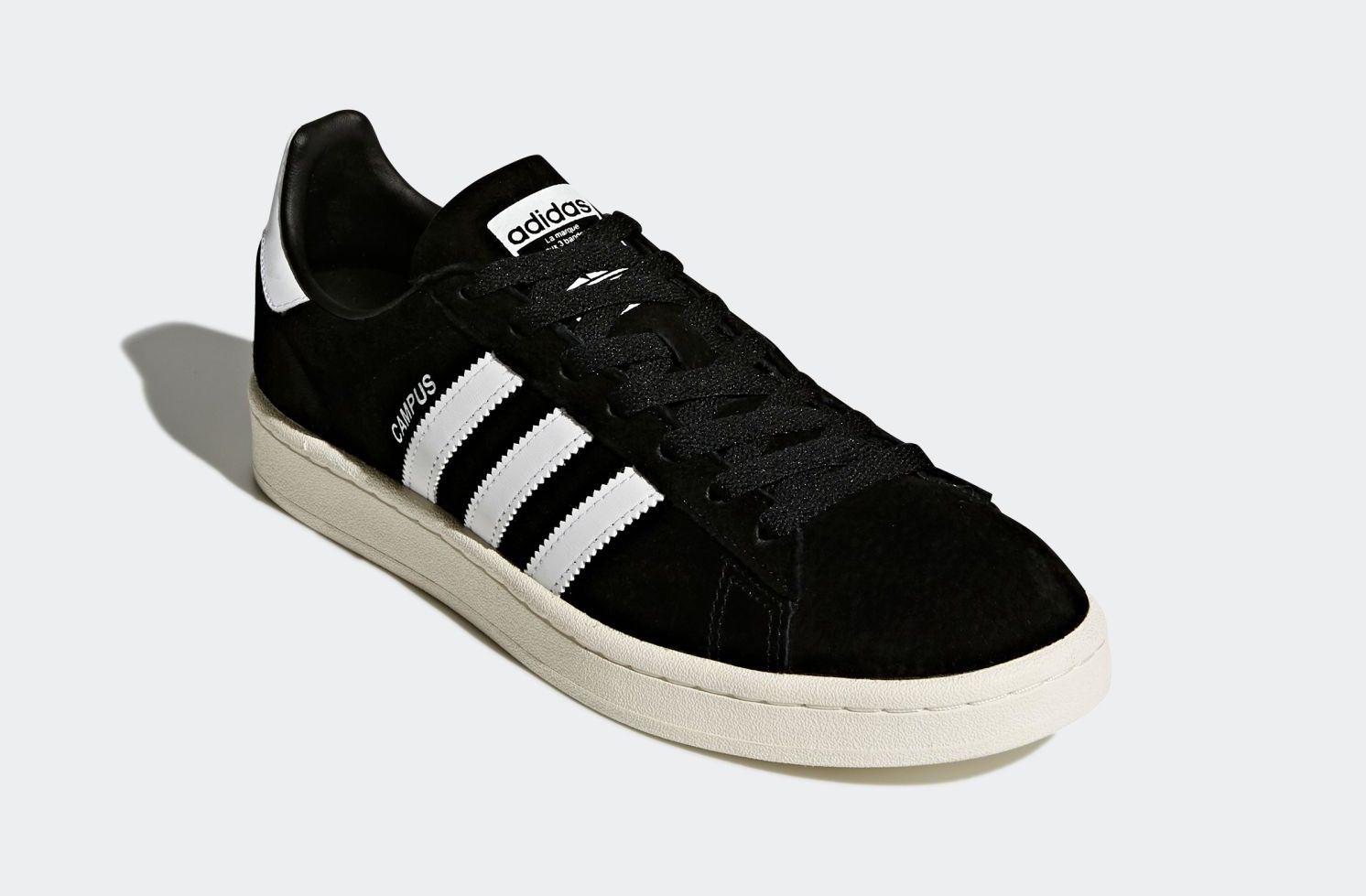 【前提】アディダスのキャンパスのデフォルト(純正)の靴紐について