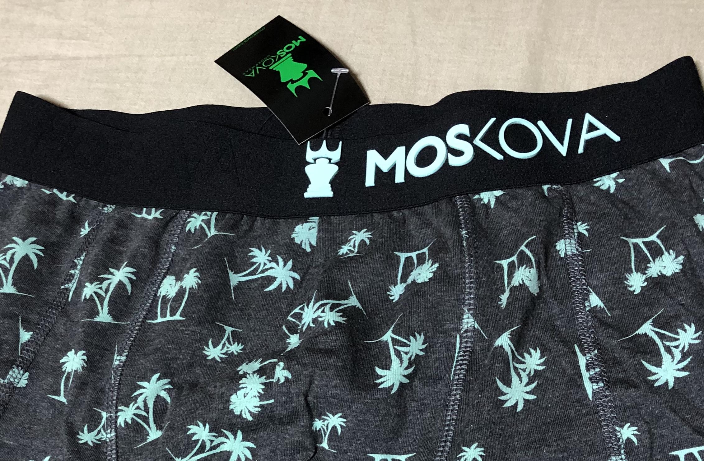 MOSKOVAのボクサーパンツ
