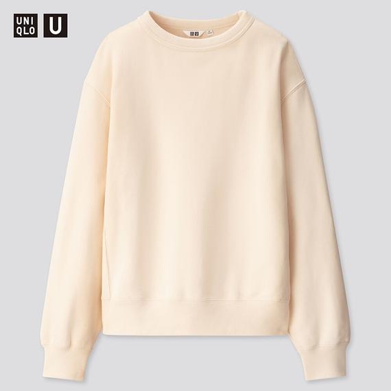 ④:ワイドフィットスウェットシャツ