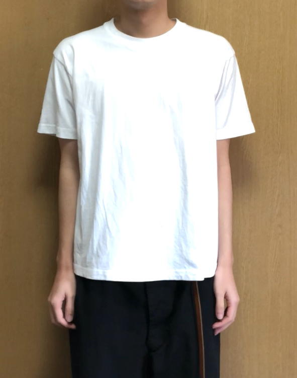 ヘインズ・ビーフィーTシャツのLサイズの縮み