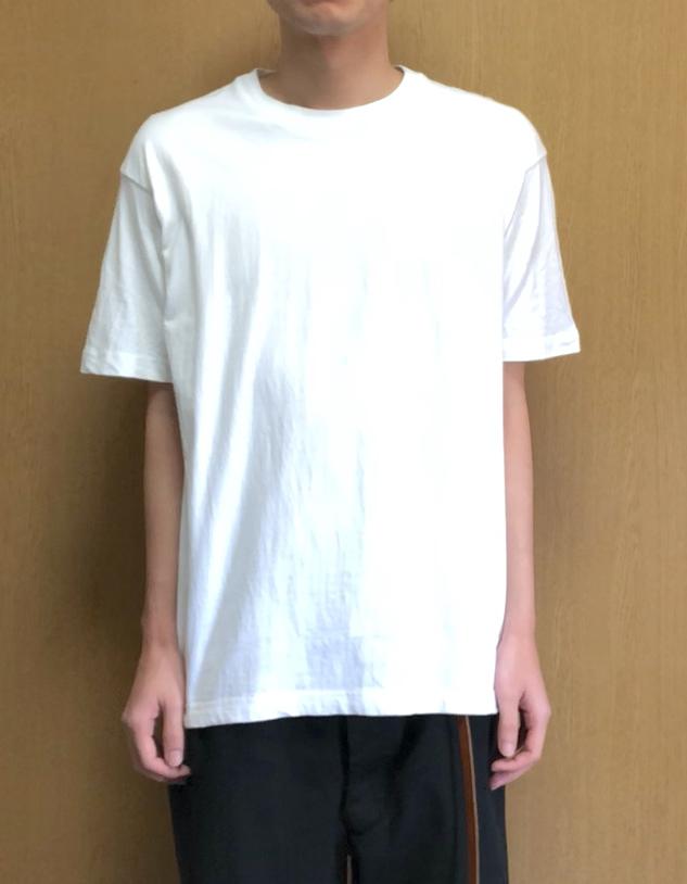 ヘインズ・ビーフィーTシャツのXLサイズの縮み