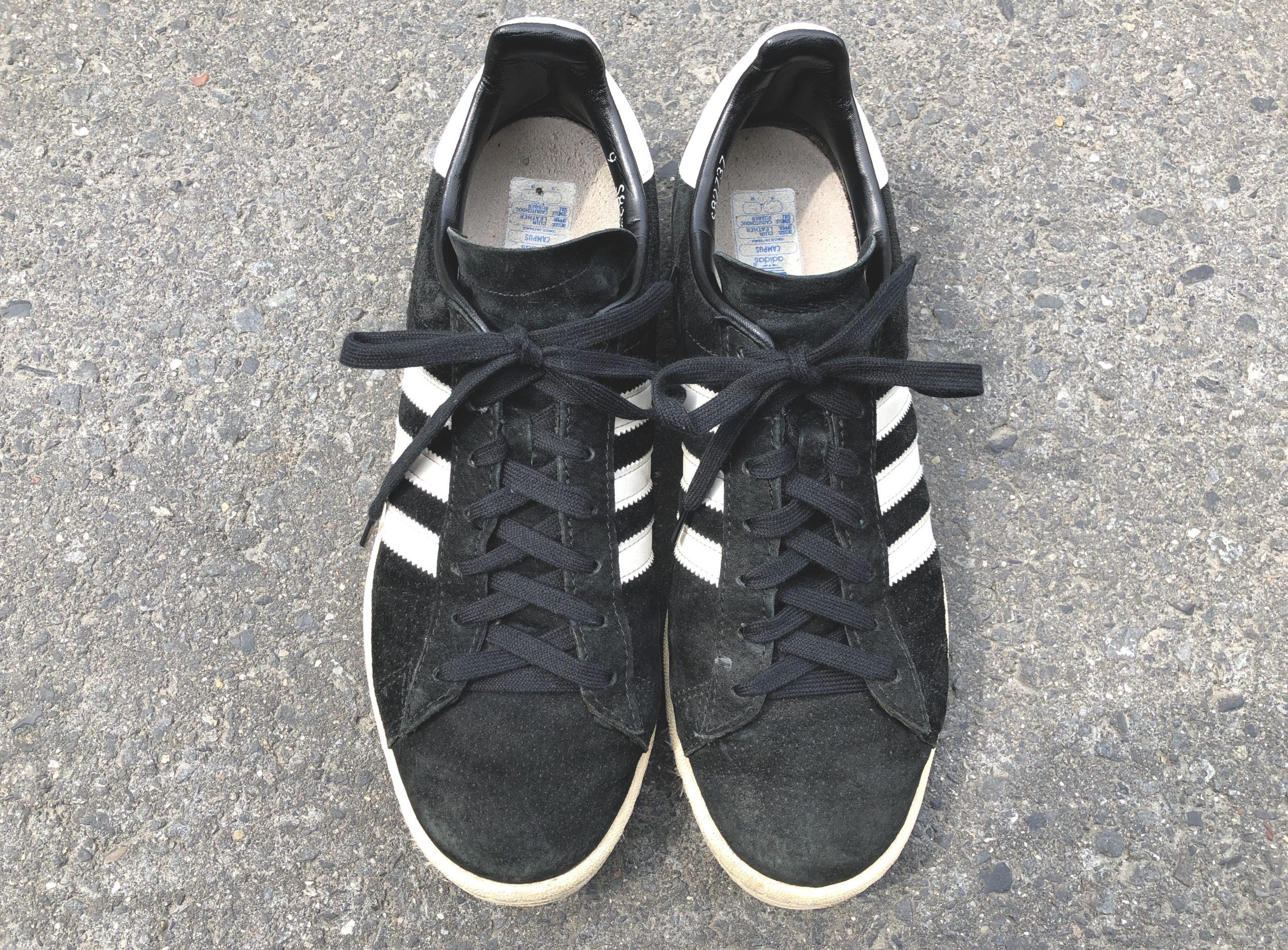 まとめ。アディダスのキャンパスには、コットン100%の靴紐が超おすすめ