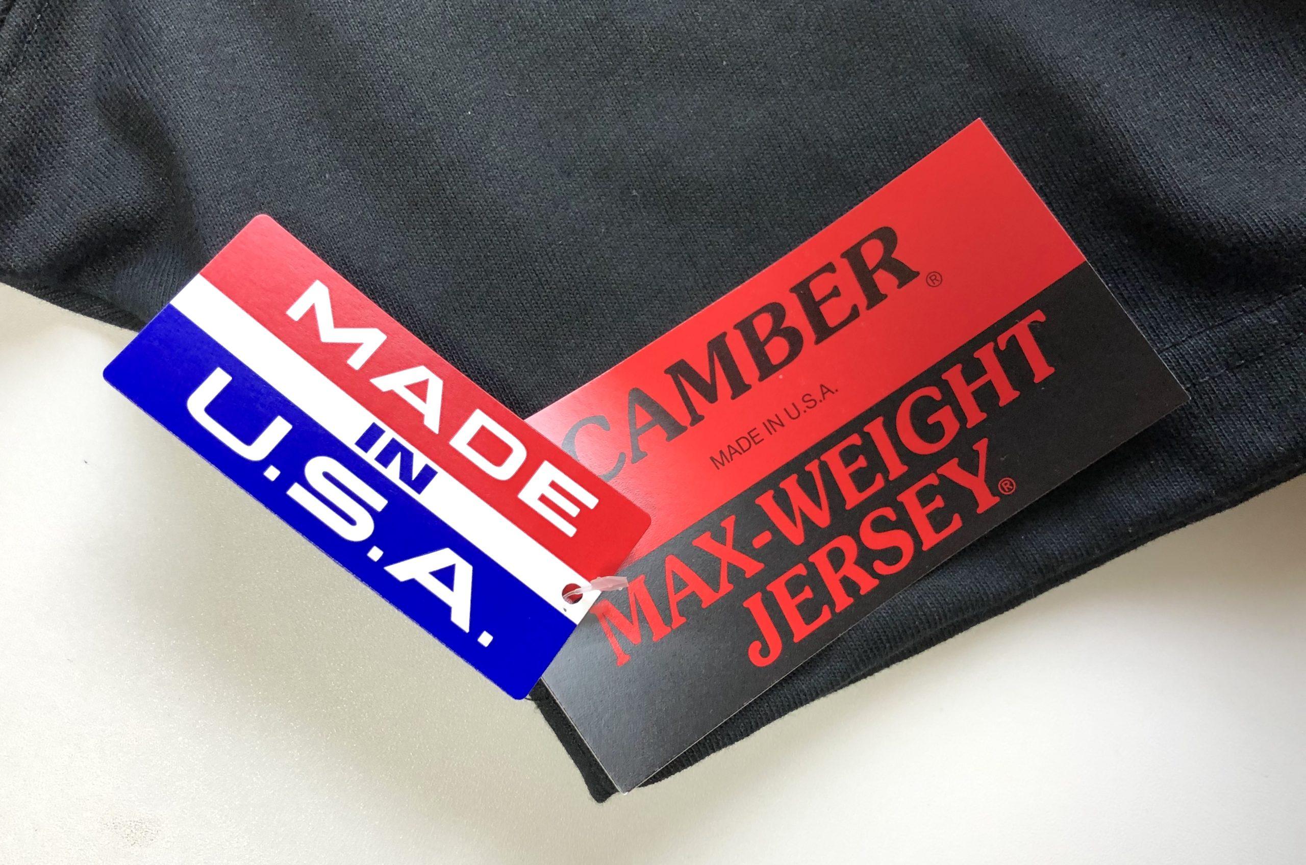CAMBER(キャンバー)・マックスウェイトTシャツの概要と特徴
