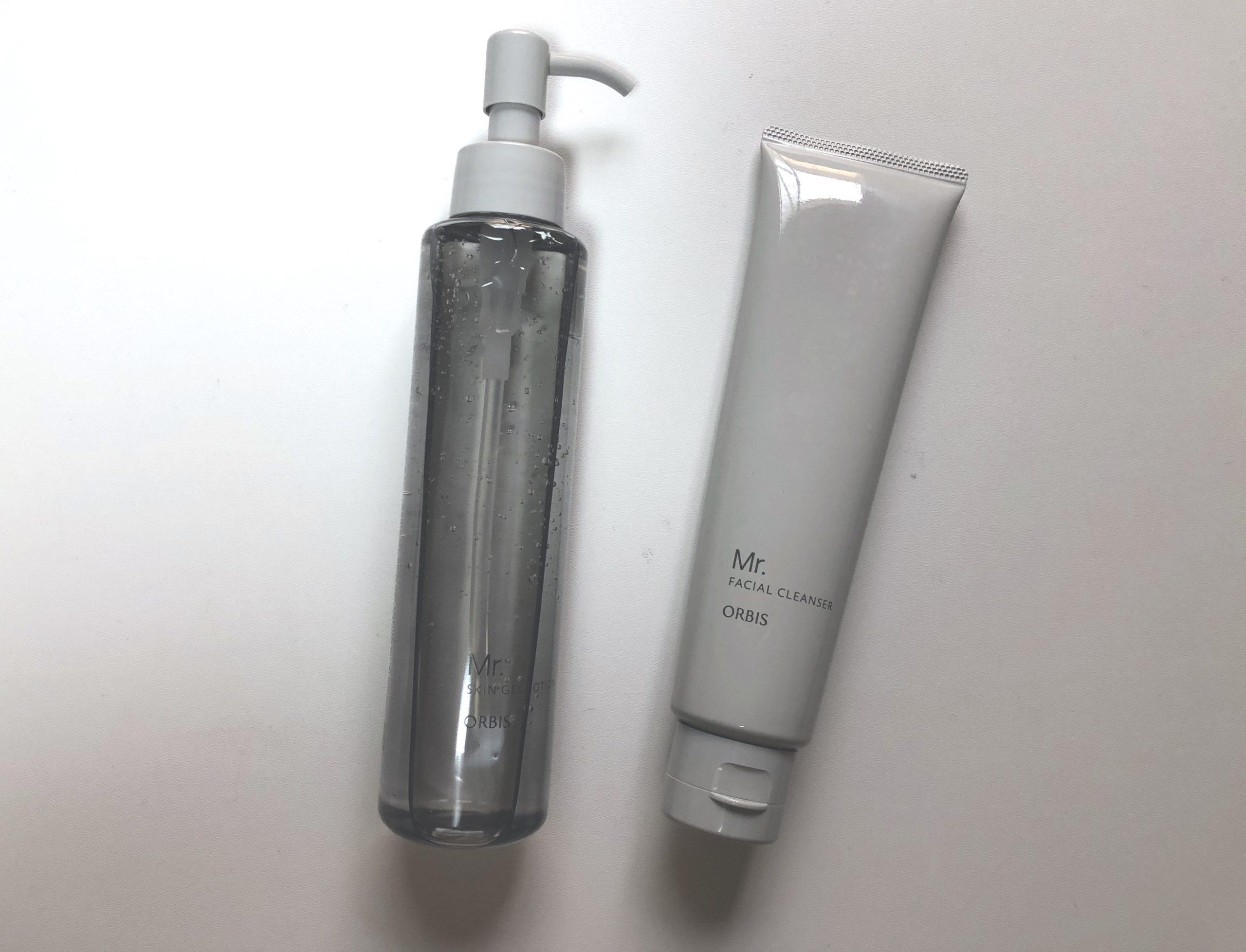 オルビスミスターの洗顔とオールインワン化粧水
