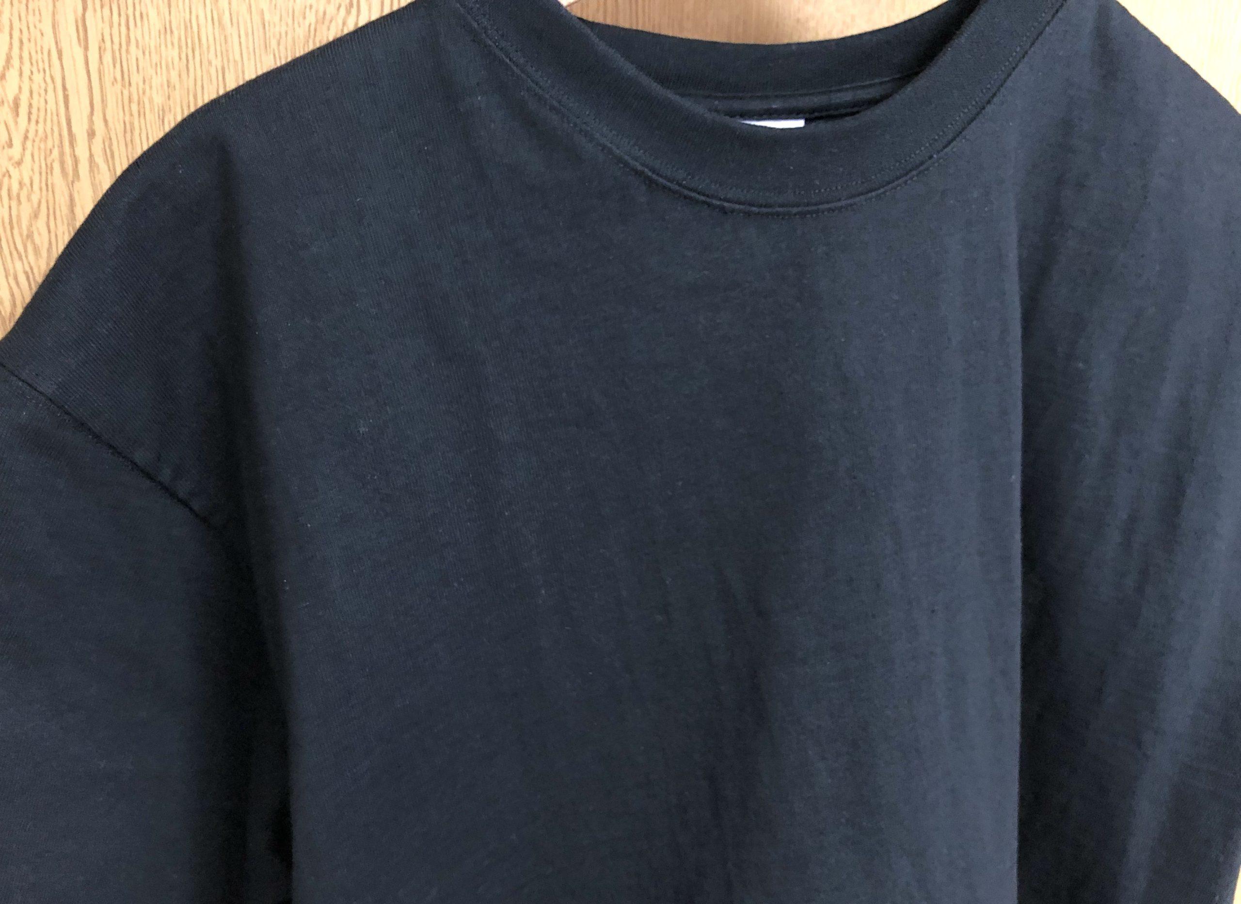 洗濯後のキャンバーのマックスウェイトTシャツ