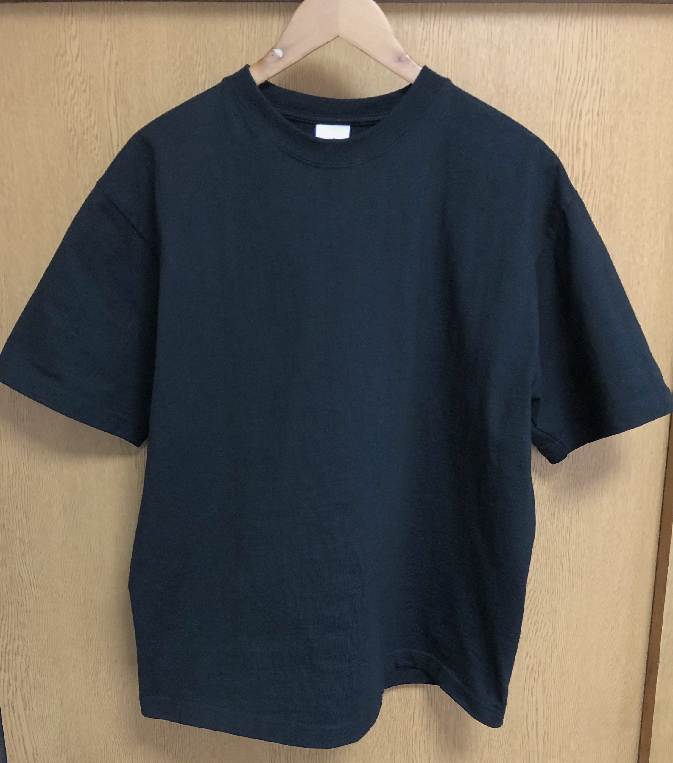 洗濯をして縮んだキャンバーのマックスウェイトTシャツ
