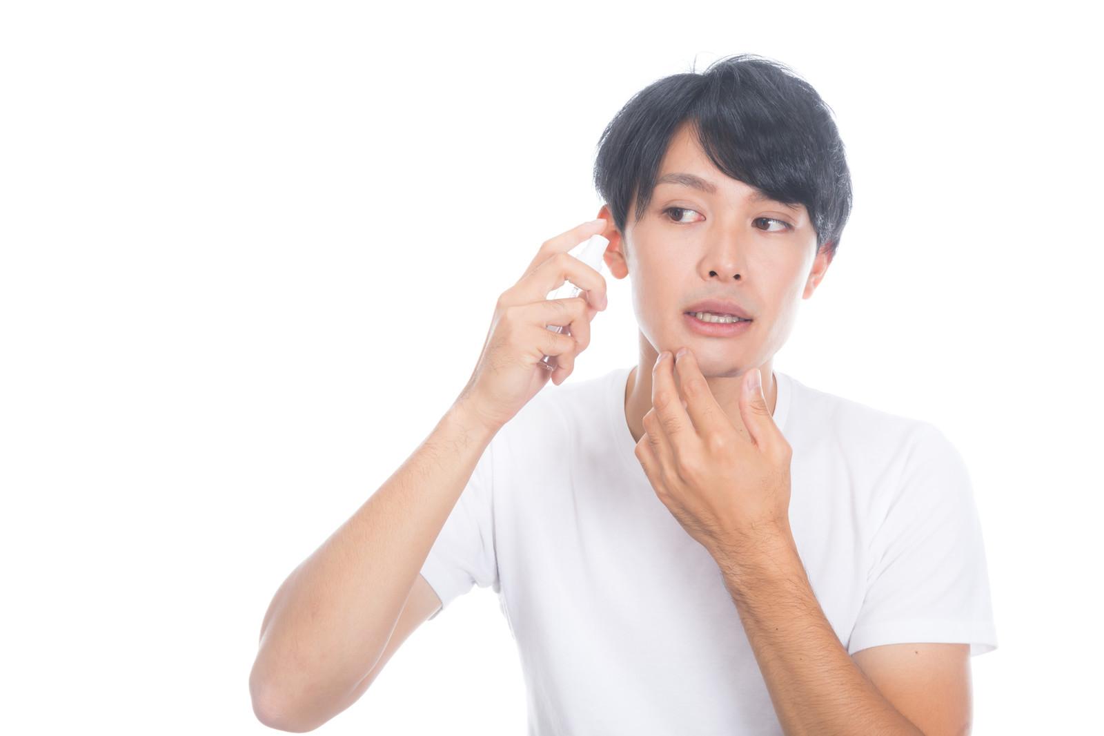 メンズがスキンケアをすべき理由←環境と肌質