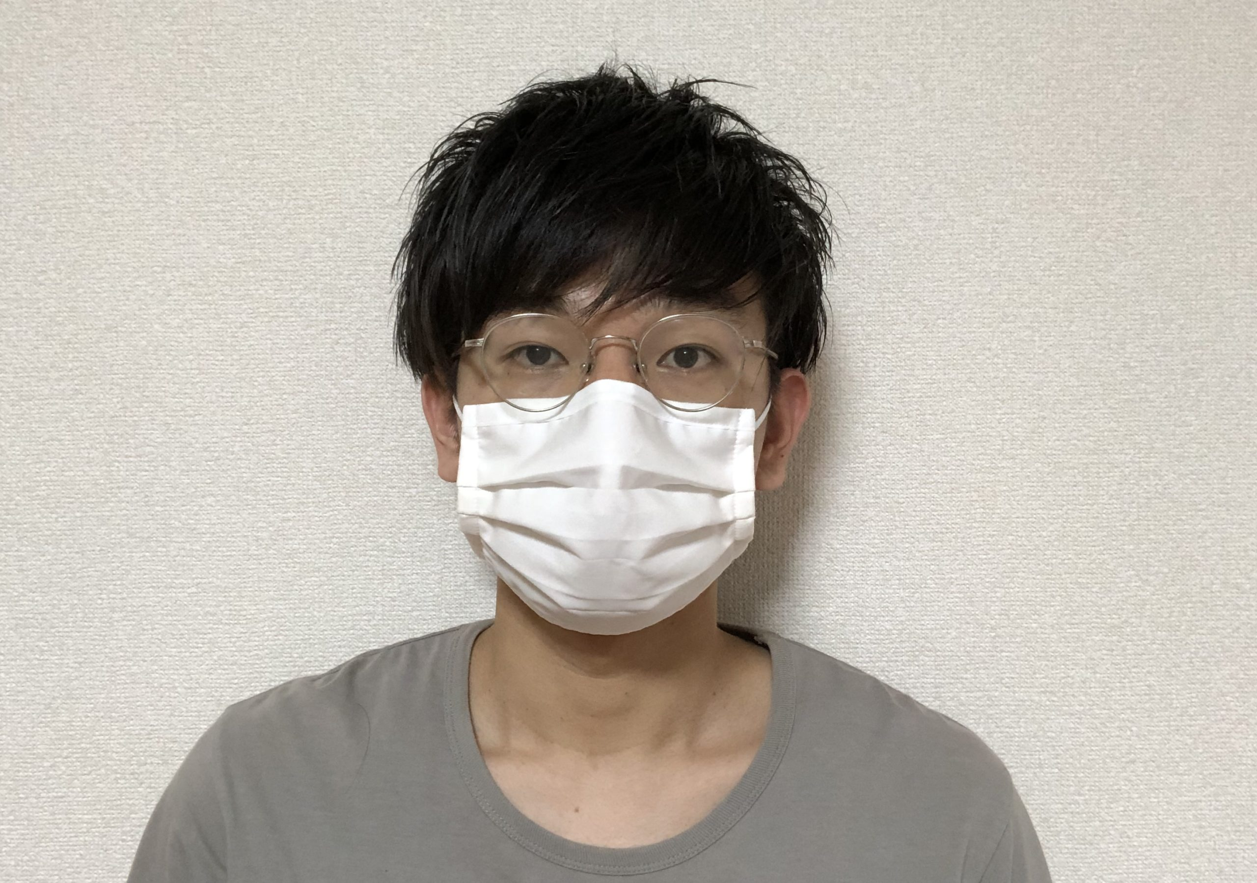 小さく 大きい する マスク