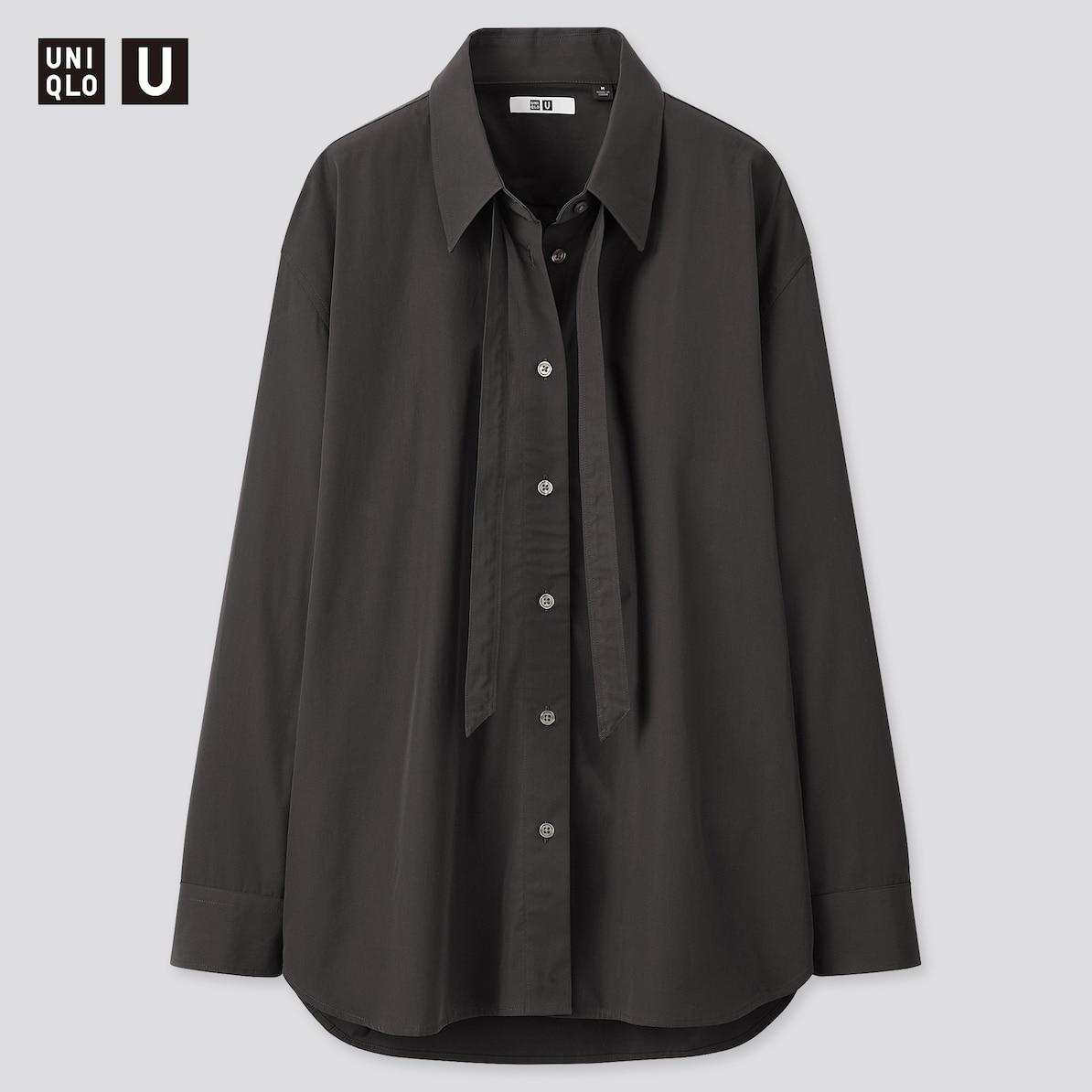 ③:オーバーサイズボウタイシャツ(2,990円)