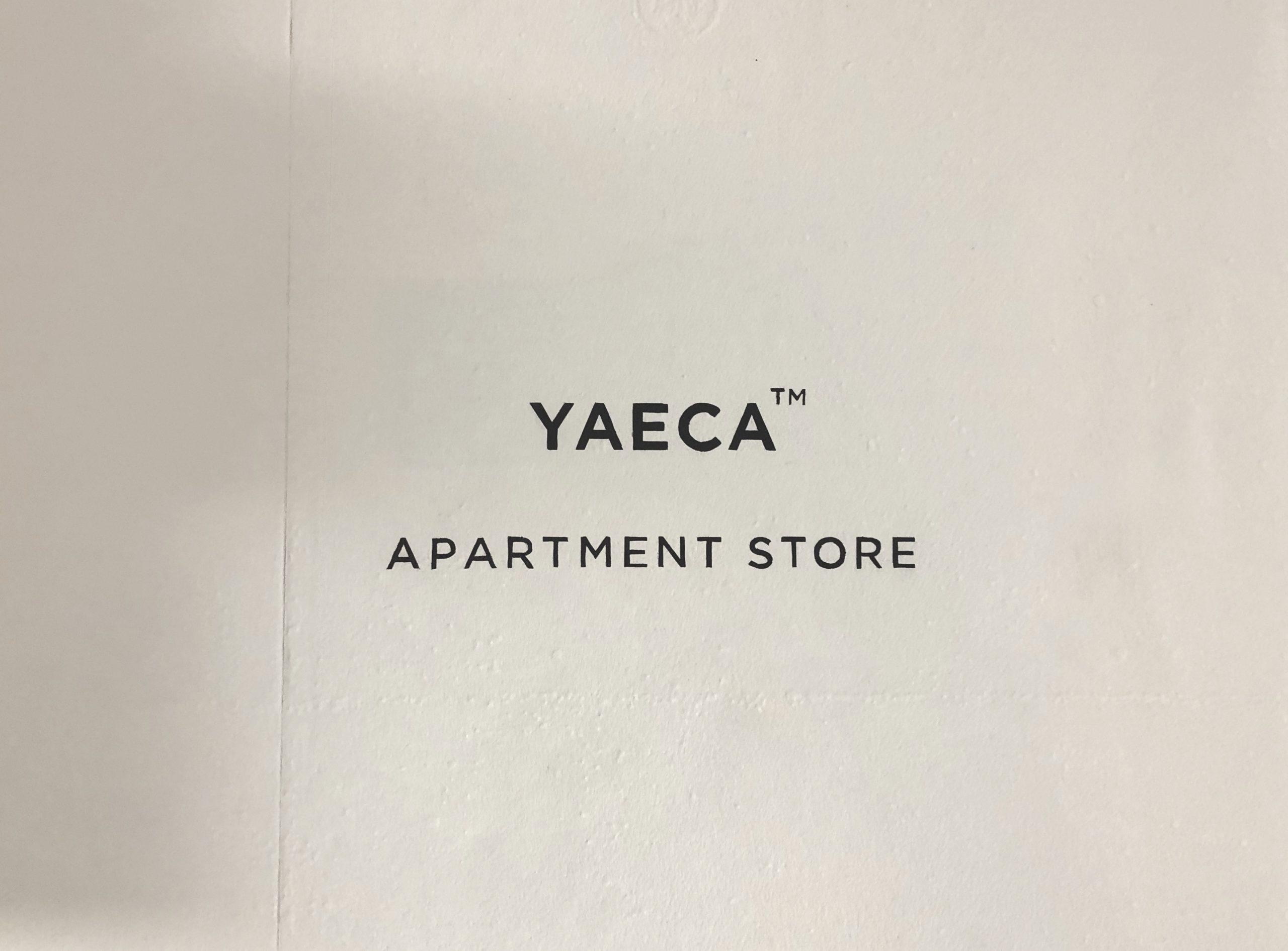 YAECA(ヤエカ)・タックテーパードチノについて