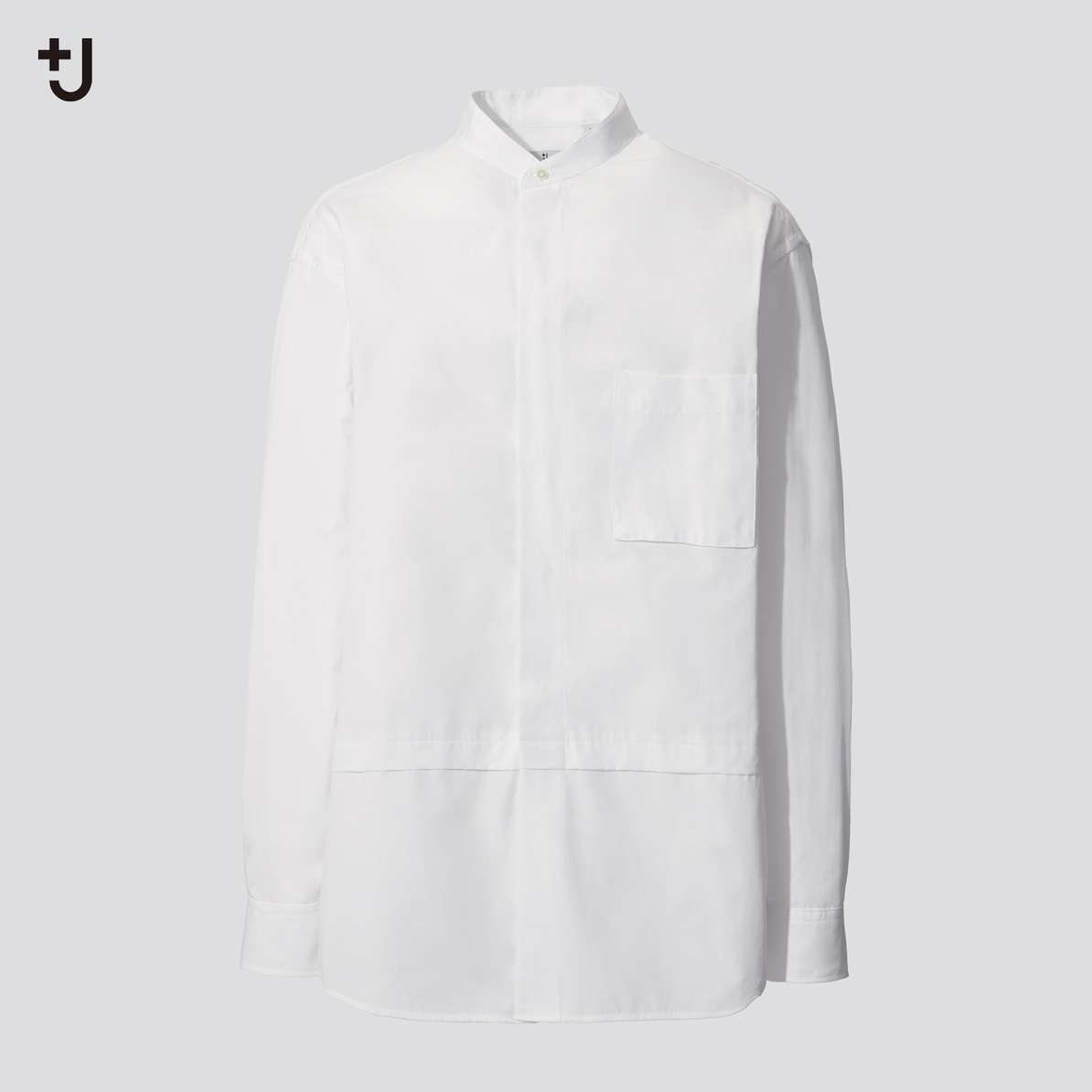 スーピマコットン オーバーサイズシャツ(3,990円)