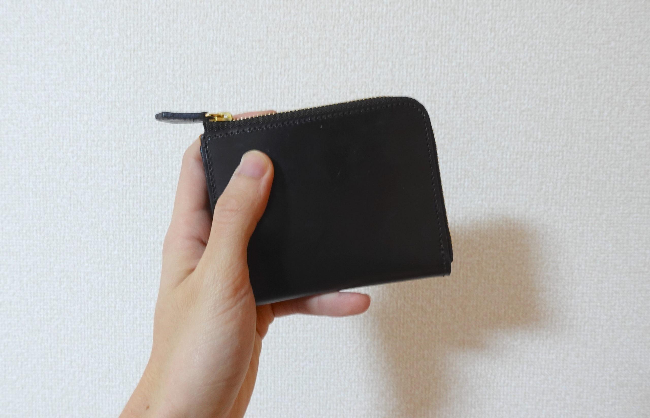 crafsto・L字ファスナー財布をレビュー。手に取った瞬間に惚れた